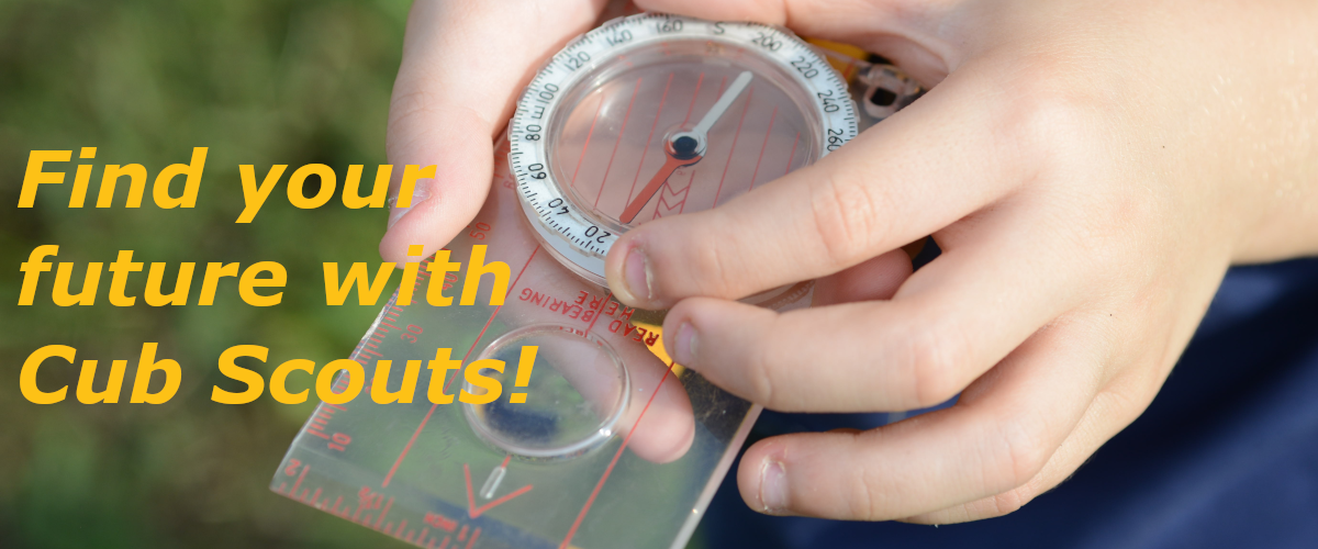 Find your future with Cub Scouts!